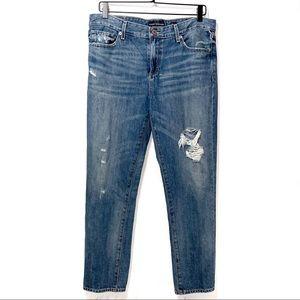 Lucky Brand | Distressed Sienna Boyfriend Jeans